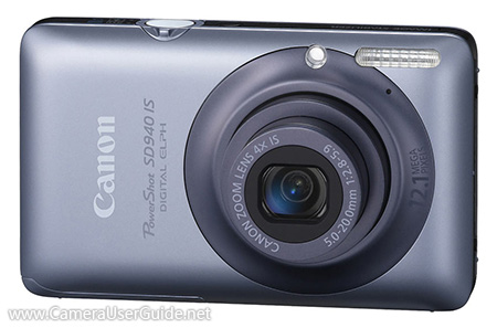 Canon PowerShot SD940 IS Digital IXUS 120 IS