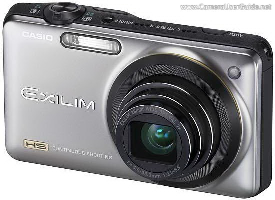 Casio EXILIM EX-ZR10 Manual