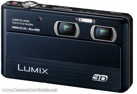 Panasonic Lumix DMC-3D1 Manual