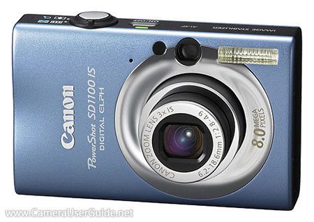 Canon PowerShot SD1100 IS Digital IXUS 80 IS