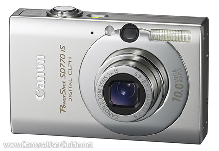 Canon PowerShot SD770 IS Digital IXUS 85 IS