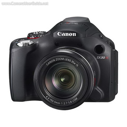 Canon PowerShot SX30 IS Digital Compact Camera