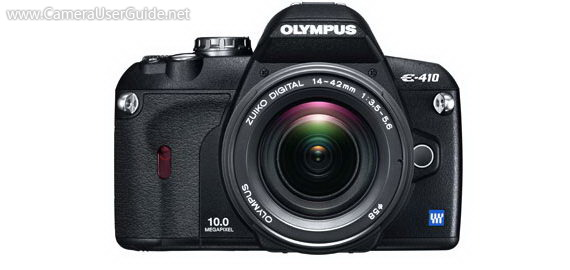 Olympus E-410 Four Thirds DSLR
